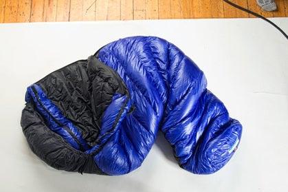 Western Mountaineering Ultralite sleeping bag