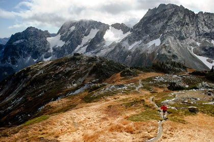 Cascade Pass and Sahale Arm Trail, North Cascades, Washington