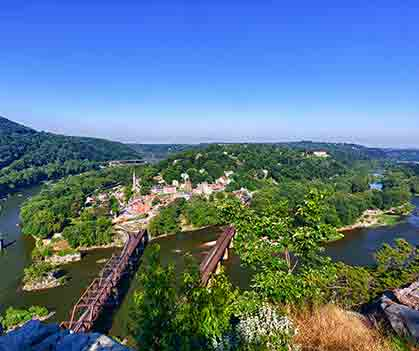 Tourism By Trail: Harpers Ferry, West Virginia