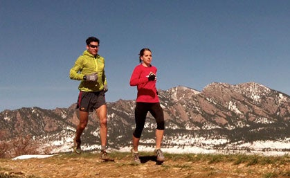 4 Tips for Training with Someone Faster Than You