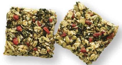 Recipe: Crispy Kale Bars