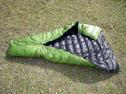 ZPacks 20-Degree Hoodless Sleeping Bag (Gear of the Year 2013)