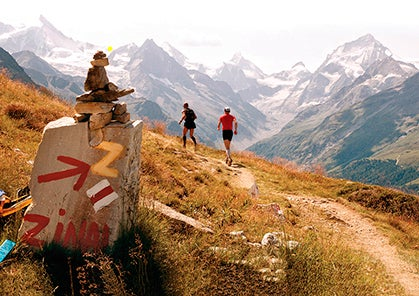 Trail Races in the Swiss Alps