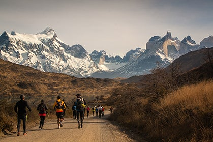 Running in the Cathedral of Patagonia