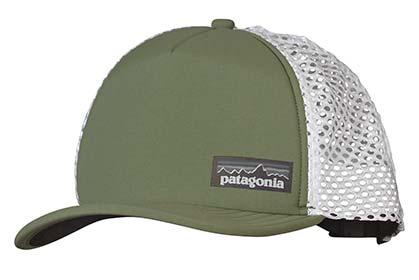 Patagonia Duckbill Trucker Hat and Long Haul Western Shirt