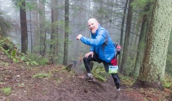 "Trophy Series Photo Contest Winner 4.27.17 - Dino Seppi - ""Last uphill of the Chuckanut 50k!!!!"""