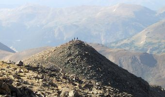 """Trophy Series Photo Contest Winner 9.14.17 - Dan South - """"The view from 13,200'. Photo taken at the Devil on the Divide 50k"""""""