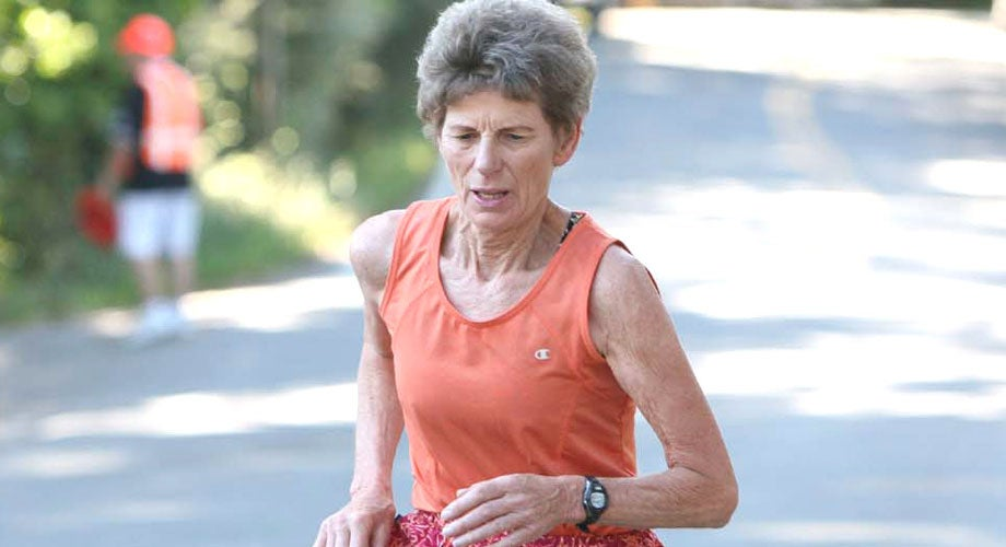 Edda Stickle, 74, Does Double Duty at Dipsea as Runner and RD