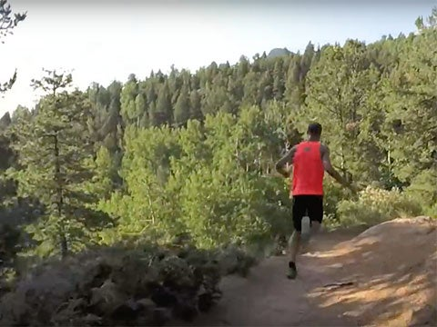 VIDEO: Bombing Downhill With Two of the Country's Fastest Mountain Runners