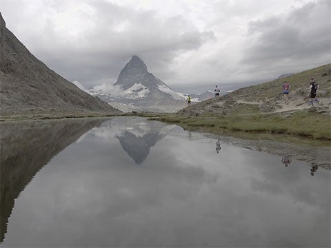 VIDEO: Racing in the Shadow of the Alps' Iconic Matterhorn