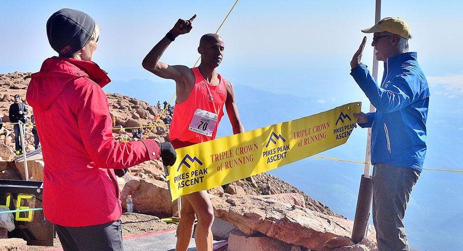 Joe Gray Dominates the Pikes Peak Ascent