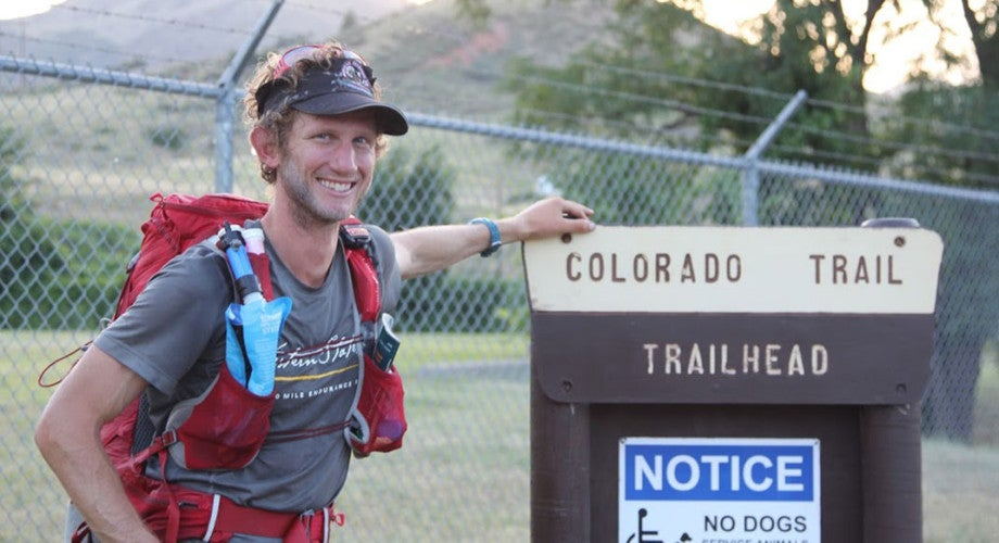 Brandon Stapanowich Sets New Self-Supported Record on the Colorado Trail