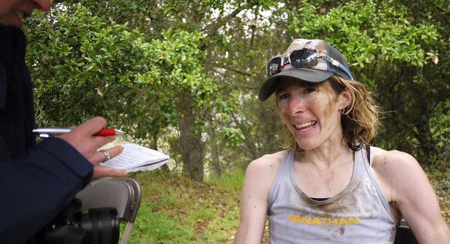 Camille Herron, Road-Ultra Champ, on Running Her First Trail Race