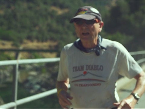 VIDEO: Wally Hesseltine, Age 72, Takes on Western States
