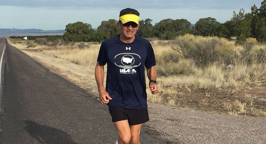 Legal Blindness Didn't Stop Jason Romero From Running 3,000 Miles Across the U.S.