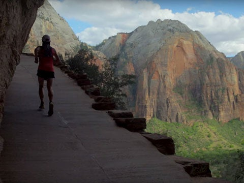 VIDEO: Running Across Zion National Park, in Record Time