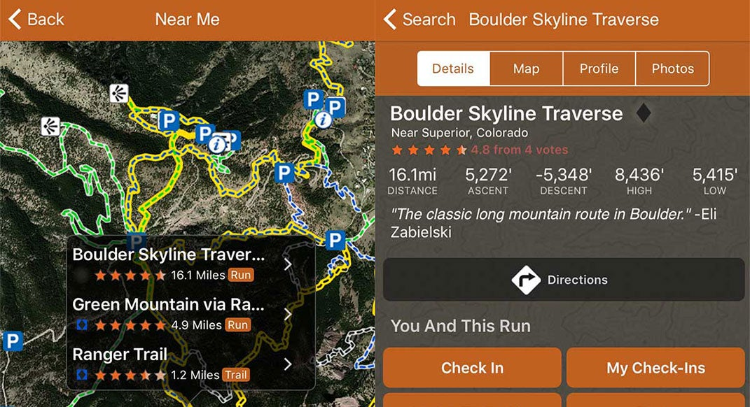 New App Aims To Be Definitive Source For Local Trails Trail - Current elevation app