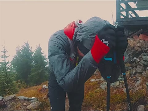 Watch: A Runner's Stormy Experience at the Cascade Crest 100