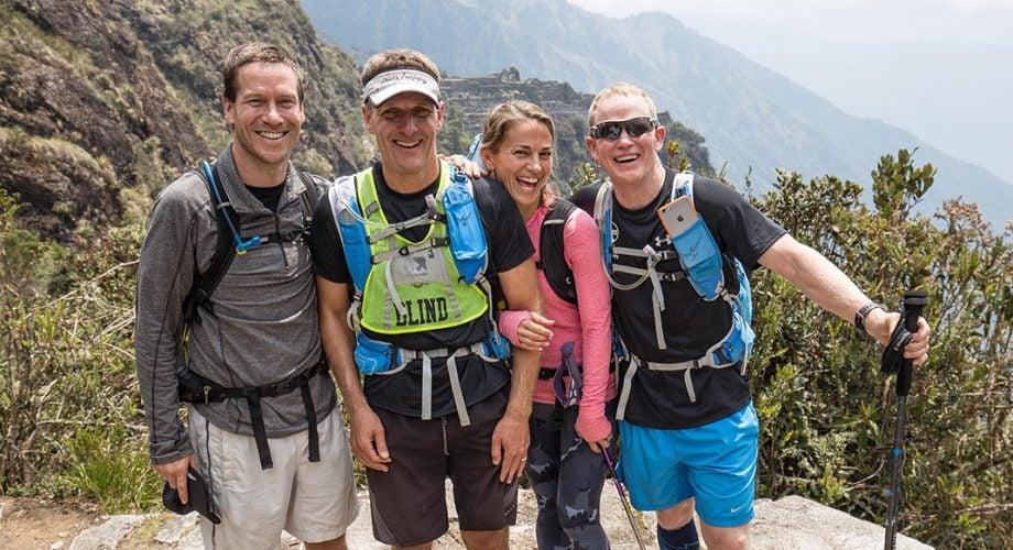Blind Athlete Runs Inca Trail to Machu Picchu in 13 Hours