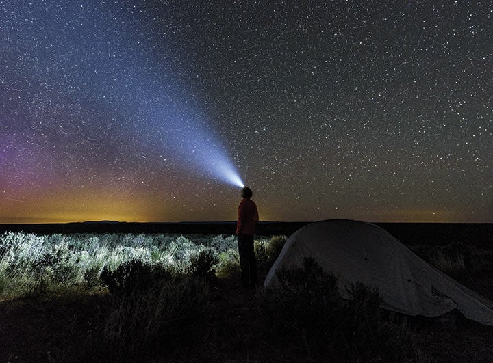 The Owyhee Canyonlands is one of the last dark spots in the Lower 48, void of light pollution.