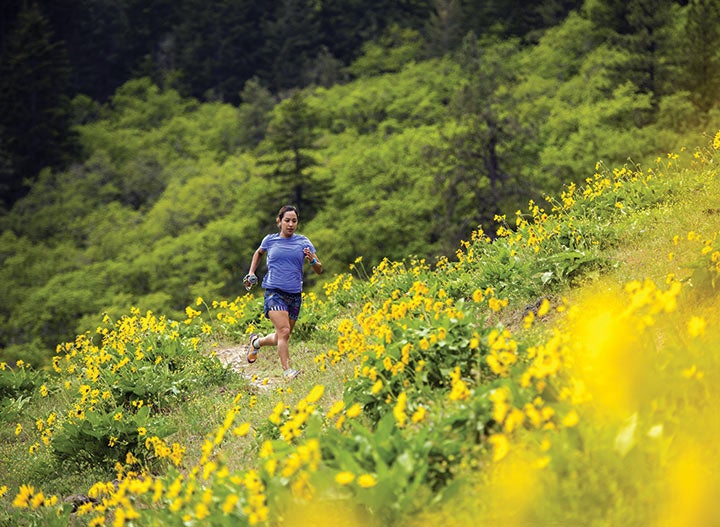 Hood River is renowned for its windsurfing, but the area's trail running is on par for quality.