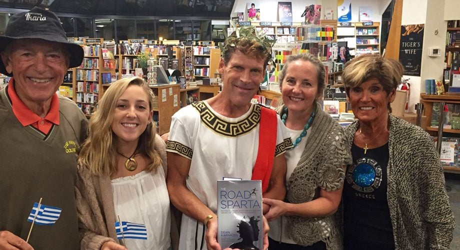 In New Book, Dean Karnazes Explores Ancient 'Ultrarunning,' Then Tries to Recreate It