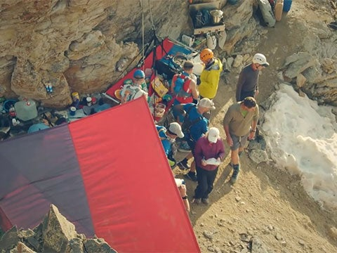 Video: The View From Hardrock's Highest Aid Station