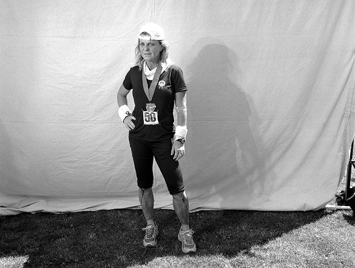 Shannon Farar-Griefer after finishing the 2011 Western States 100.