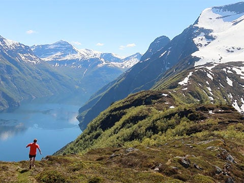 Video: Trail Running Above the Fjords