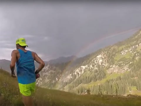 Video: Watch Zac Marion Run Up a Mountain
