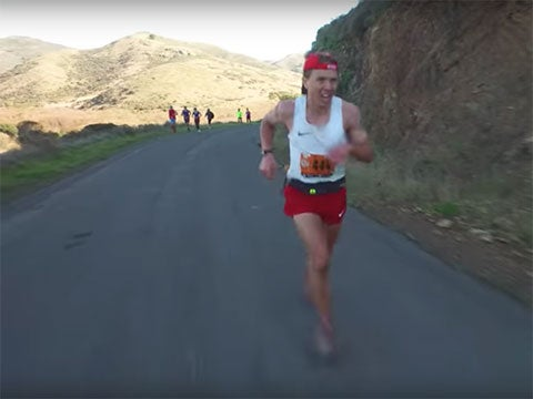 Watch: The Final 2 Minutes of Zach Miller's TNF50 Win