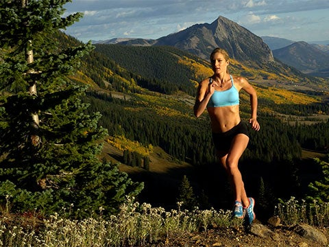 VIDEO: Trail Running With Emma Coburn, Olympic Bronze Medalist