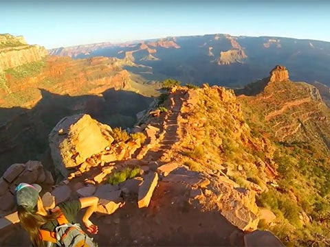 The Next Best Thing to Running the Grand Canyon? Epic GoPro Footage