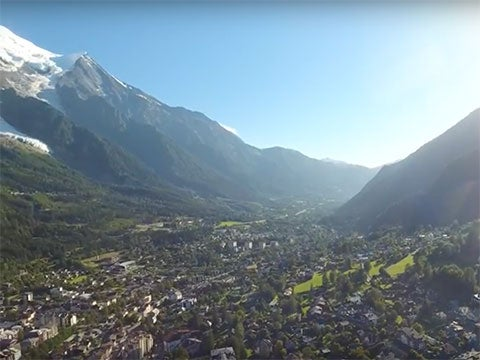 VIDEO: The View From Chamonix