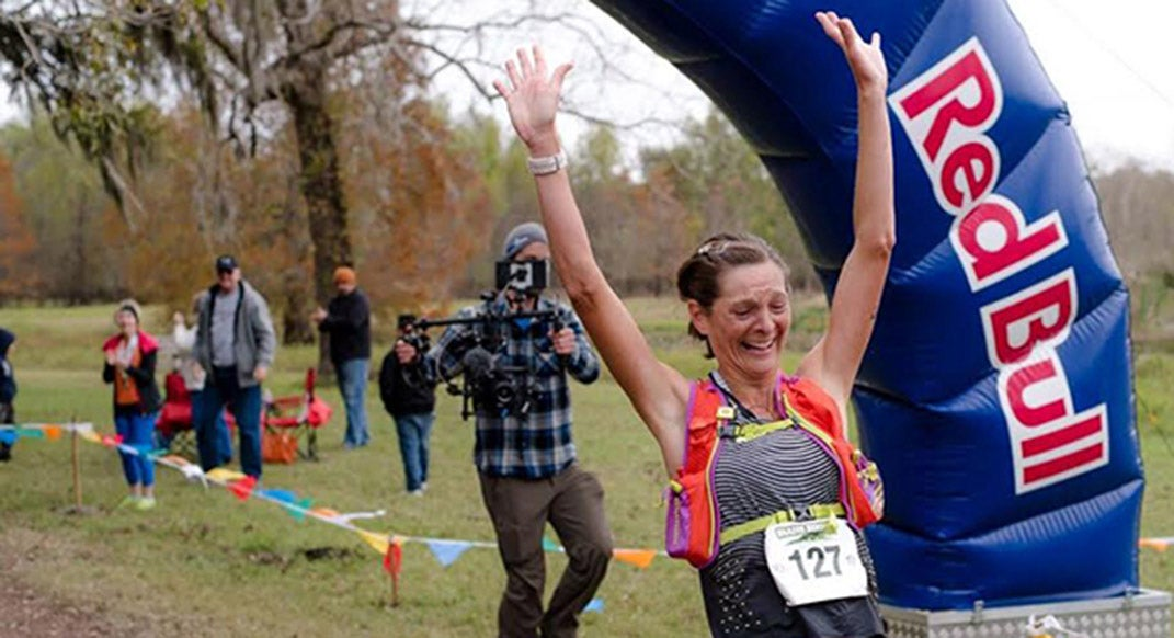 Caroline Boller Sets American 50-Mile <br> Trail Best Time