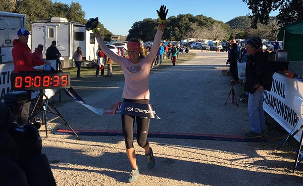 How How Stephanie Howe Violett Bounced Back From Injury to Win a 100K Championship Outright
