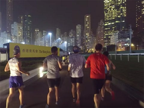 Sage Canaday and Tim Tollefson tackle the Hong Kong 100K