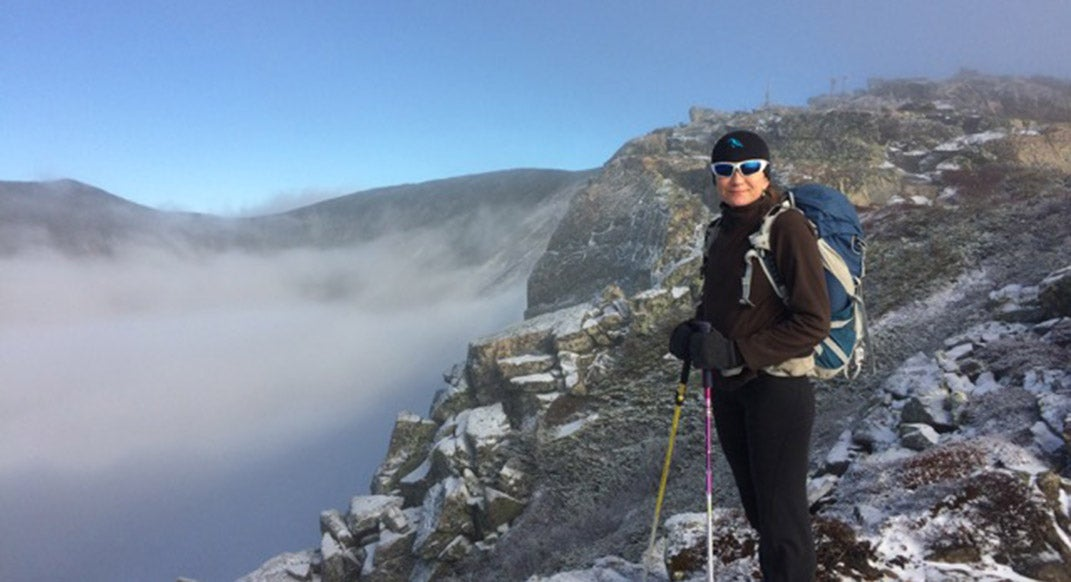 Sue Johnston quietly ticks off an epic FKT in the Northeast