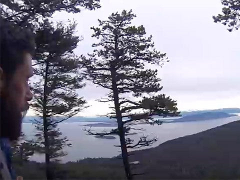 WATCH: Running the Orcas Island 25K