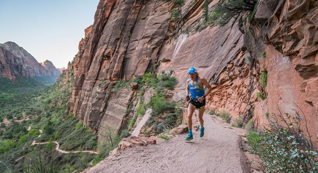 Hayden Hawks Sets New FKT on the Zion Traverse