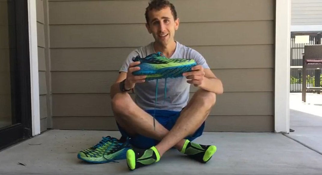 How to Lace Your Trail-Running Shoes