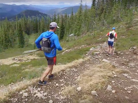 WATCH: Running Across the Great Burn Wilderness