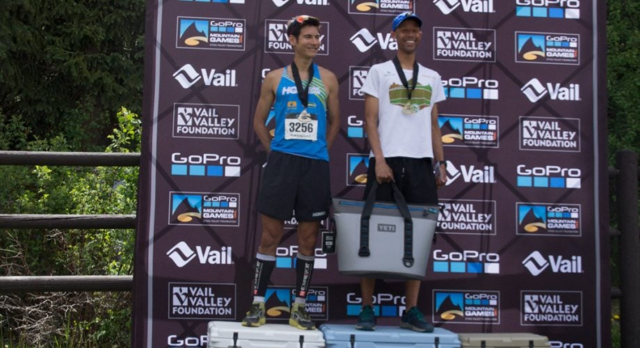Joe Gray Four-Peats at the GoPro Mountain Games Spring Runoff 10K