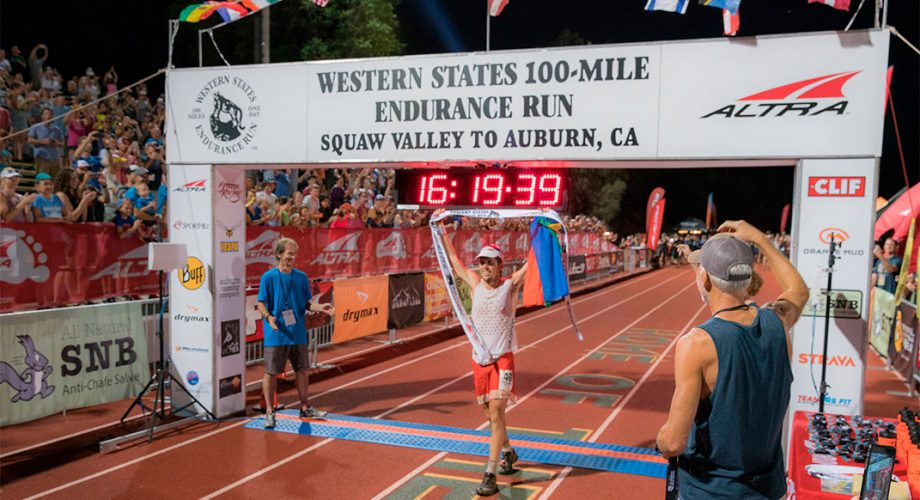 Ryan Sandes Finally Claims Western States Victory