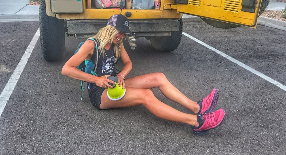 Self Massage for Runners on the Road