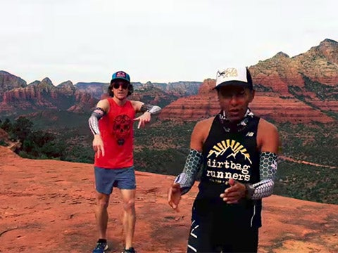 WATCH: Trail Running Parody Rap