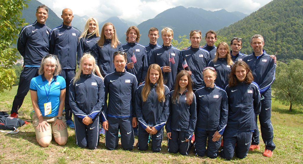 2017 World Mountain Running Championships Team USA medals