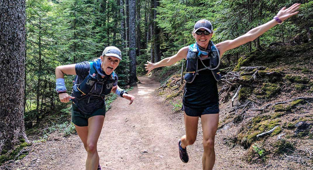 Allison Macsas and Mallory Brooks Set FKT on the Wonderland Trail