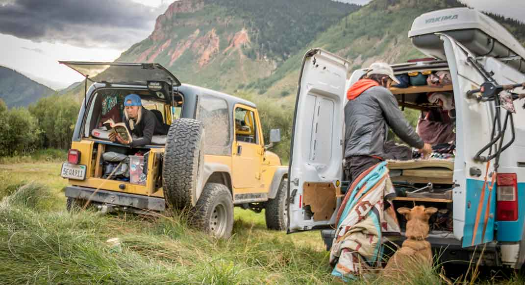 These Runners Use Built-Out Vans to Sleep Close to the Trails