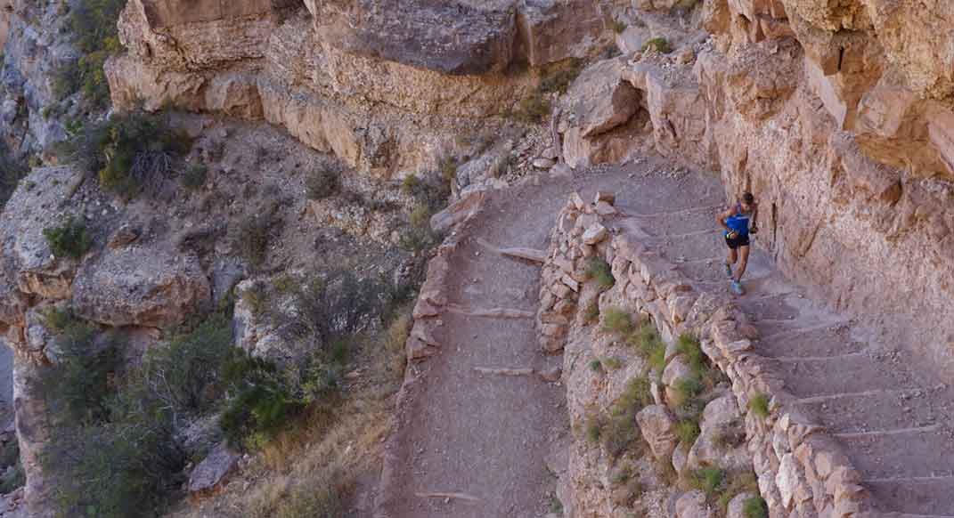 Tim Freriks Sets FKT for Grand Canyon Rim-to-Rim